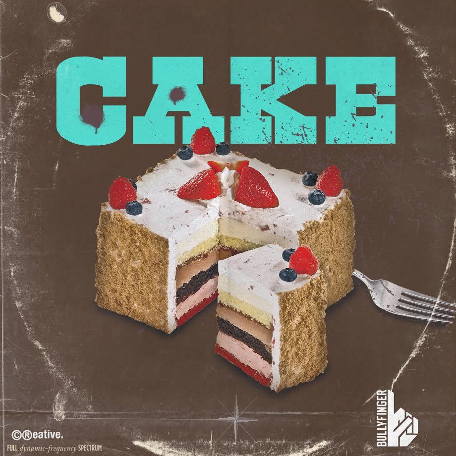 bullyfinger-cake